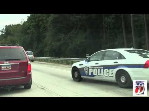 18 Wheeler Truck  on Fire on i26 North Charleston, SC - Holy City News 1