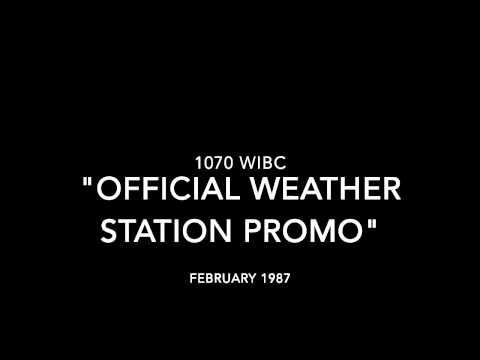 1070 WIBC Official Weather Station