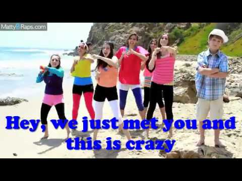 MattyB and Cimorelli - Don't call me baby (Call me maybe Parody) LYRICS ON SCREEN