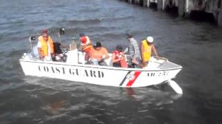 ORACIS SPL RESCUE GRP 2ND WAVE RECOVERY TEAM FOR CAPSIZED CARGO SHIP WITH PCG PERS