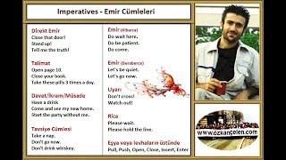 10 Imperatives - Emir Cmleleri