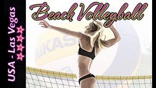 Beach Volleyball - Las Vegas - Crabb/Gibb (USA) vs Ricardo/Alvaro Filho (BRA)