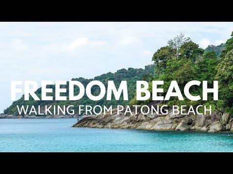 Walking To Freedom Beach, Phuket, Thailand