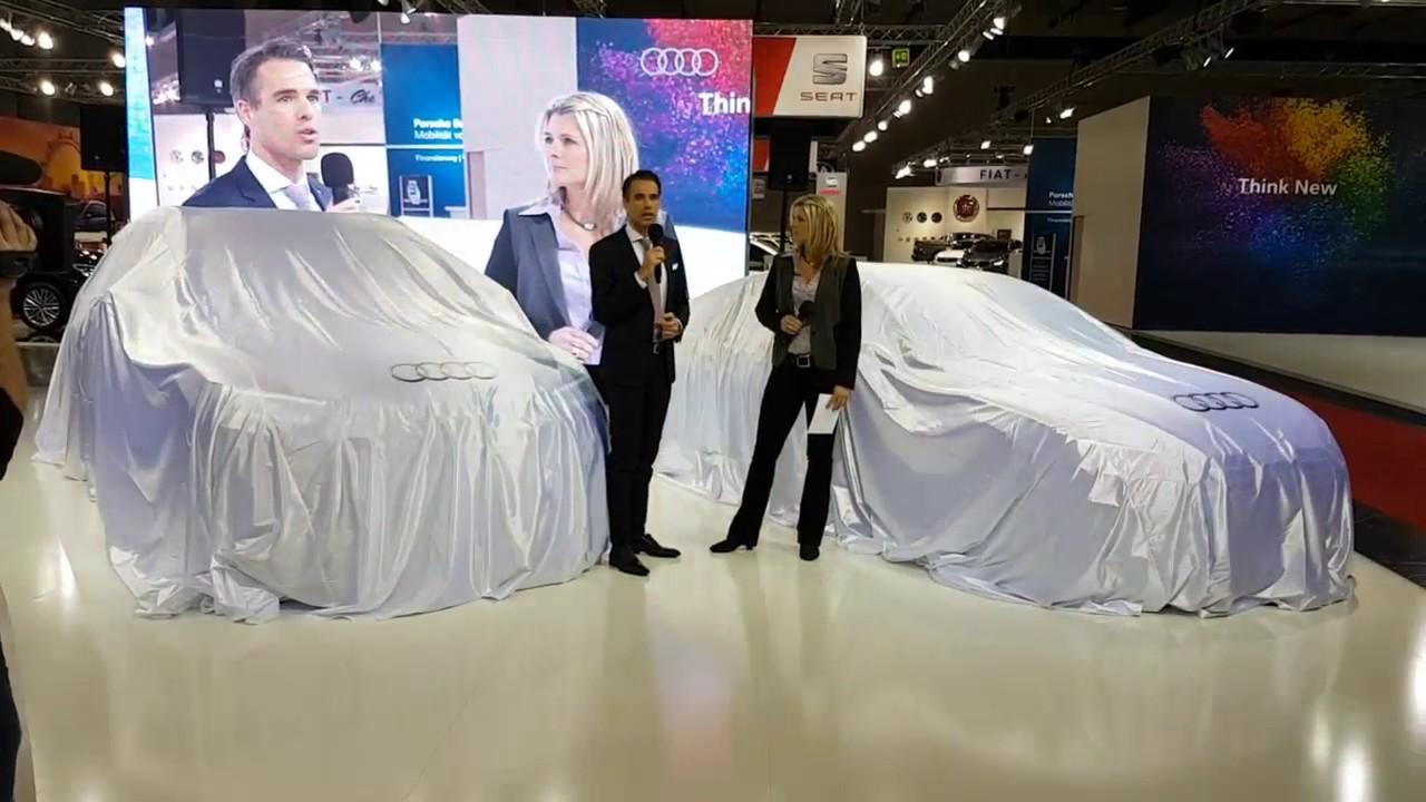 Audi pre opening vienna autoshow 2017