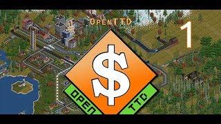 Прохождение Open TTD - #1 Первая линия
