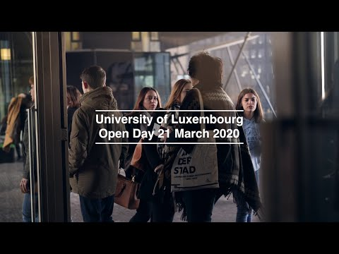 [CANCELLED] Open Day 2020 - University of Luxembourg