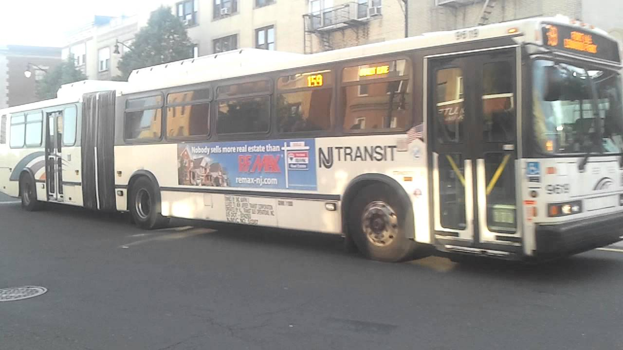 Nj Transit Bus Route 159 At Cliffside Park Youtube