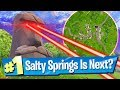 Is SALTY SPRINGS Next     New Compact SMG Inbound   Fortnite Battle Royale