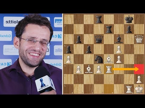 Move Your Queen 6 Times In The Opening Like Aronian   #gibchess 2018.   Round 9