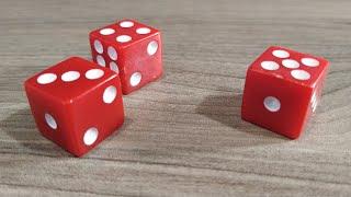 Фокус с угадыванием числа на игральном кубике