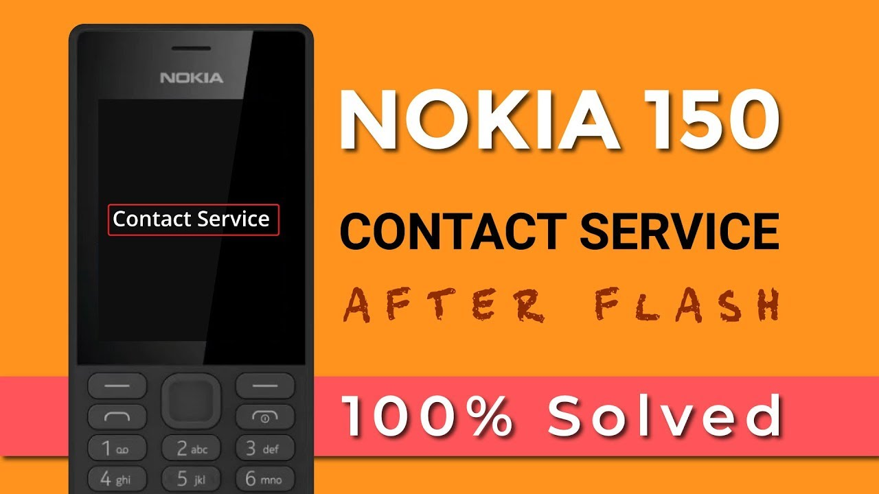 Nokia 150 RM-1190 Contact Service Successfully Repair by Best dongle | In  Urdu/Hindi