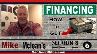 Section 8 Landlord Tips - How to Finance Section 8 Homes