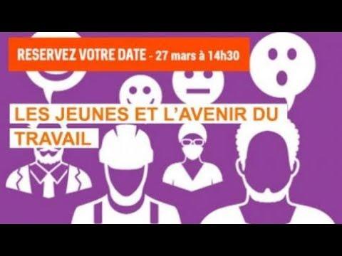 Direct : Les jeunes et l'avenir du travail