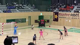 2019高校選抜 女子決勝 明光学園VS白梅学園 前半①