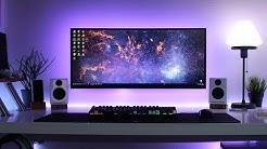 Clean & Minimal Desk Setup! Cable Management Goals  Setup Deluxe #3 