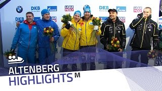 Altenberg's crowd bows down before Friedrich-Grothkopp | IBSF Official