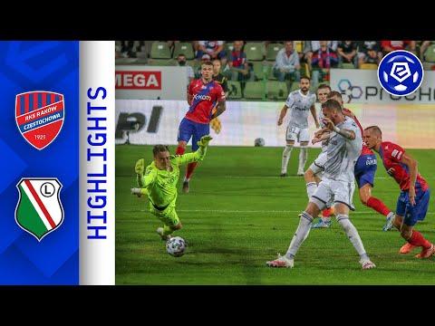 DUBLET PEKHARTA | Raków - Legia | SKRÓT | Ekstraklasa 2020/21 | 1. Kolejka