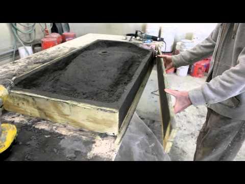 Concrete Central Concrete Countertops, Tabletops, Sinks and Bathroom Vanities