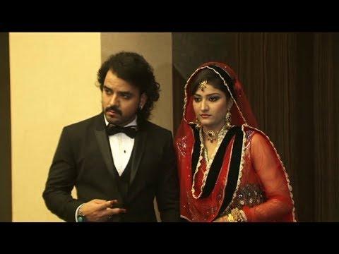 Singer Toshi Sabri WEDS Amna | Toshi's WEDDING RECEPTION.