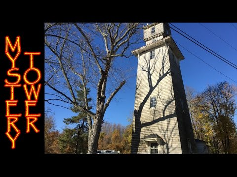 The Ornate Water Tower of Oakhurst Section of Ocean Township New Jersey