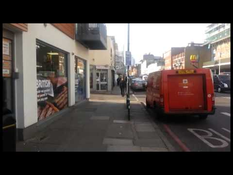 Walking down Commercial Road (London)