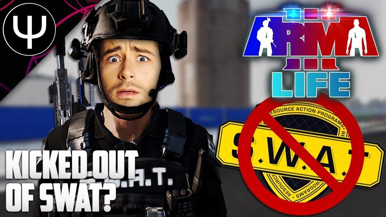 ARMA 3: Kamdan Life Mod — Kicked Out of SWAT?!