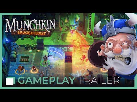 munchkin:-quacked-quest---gameplay-trailer