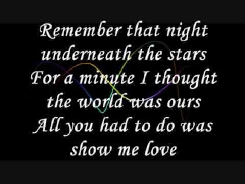 The wanted - Show me love (lyrics)