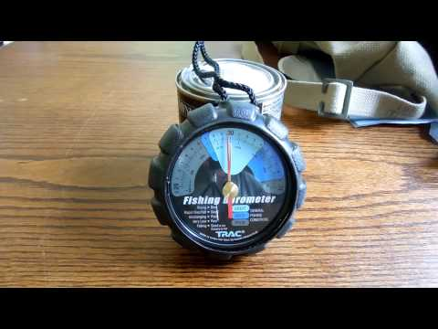 A Fishing Barometer For Survival, SHTF (no Zombies) Bug Out Bag
