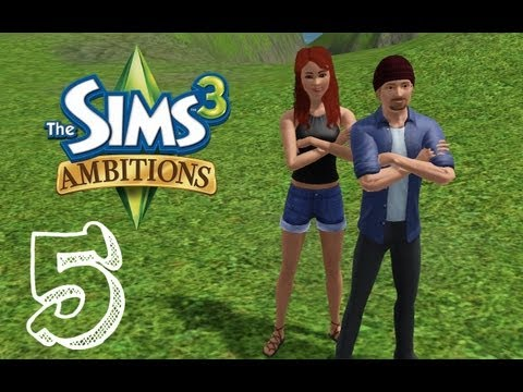 Let's Play: The Sims 3 Ambitions (Ep.5) Spa Day!  