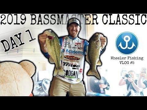 Bassmaster Classic 2019 VLOG #5 | Day One
