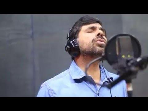 Kester singing live in studio|anandamam snehame(aradhana)music Rijo Thuruthel Lyrics Theresa Thomas