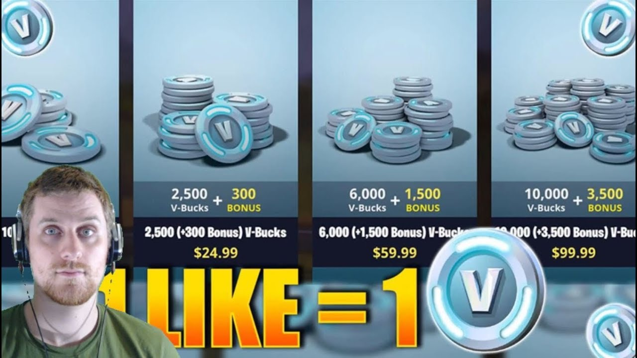 Best Trends Fake V Bucks Giveaways New Updates Coming To