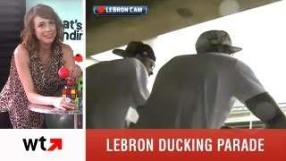Lebron James Ducking Parade Plus Top 5 Videos of 6/25/13