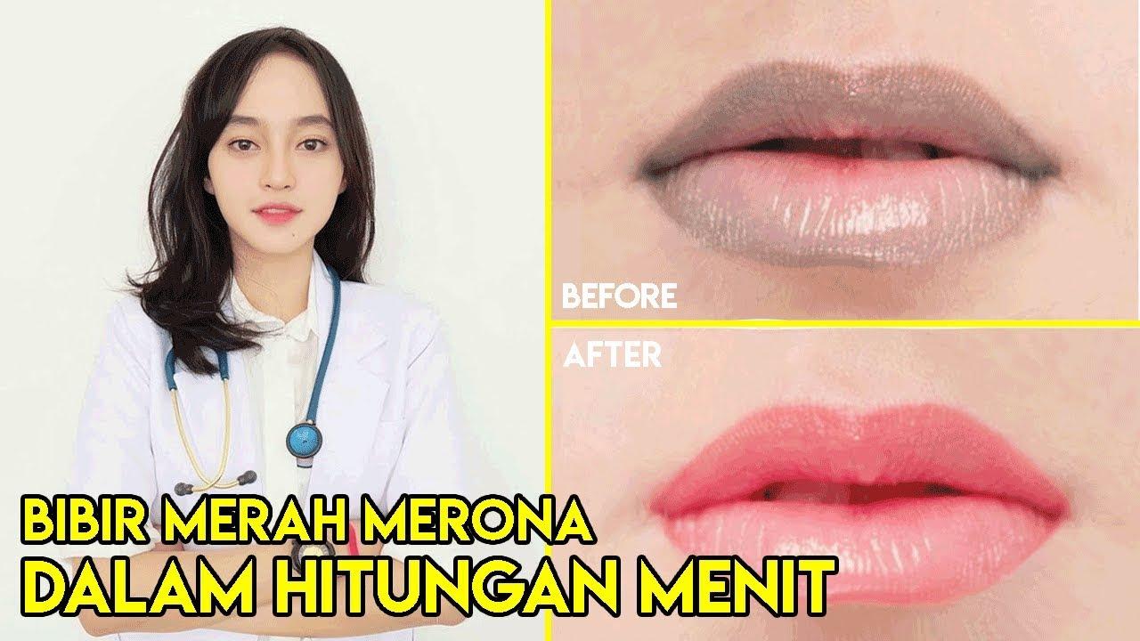 Cara Memerahkan Bibir - YouTube