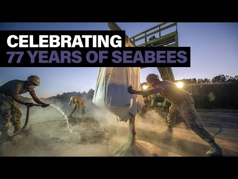 U.S. Navy Seabee's celebrate 77th Birthday thumbnail