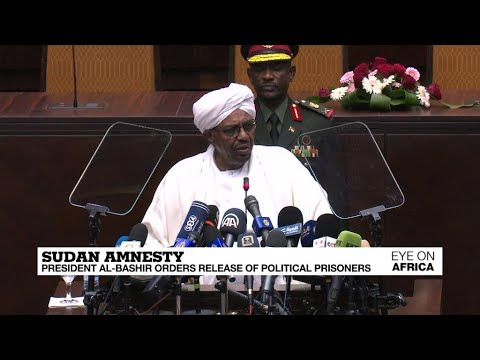 Sudan amnesty: President Omar al-Bashir orders release of 'all political prisoners'