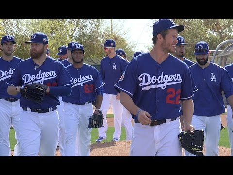 L.A.  Dodgers Spring Training in Camelback Ranch