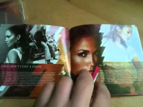 JLO dance again... the hits deluxe edition unboxing