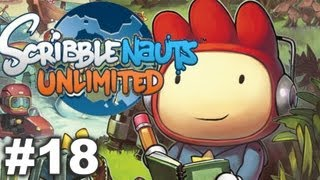 Scribblenauts Unlimited - Ep18 - Underscore Mine, Abjad Dunes, Camelcase Oasis