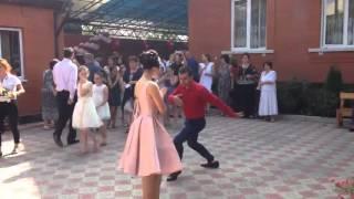 Национальные танцы на осетинской свадьбе, Владикавказ 15 08 2015