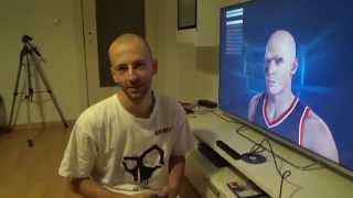"""NBA2K15 Player """" FACE SCAN """" PS4 Camera - Playstation 4 Test Tutorial"""