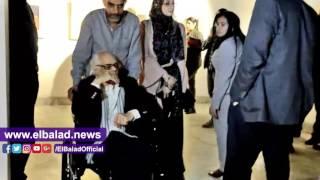 أحمد عبد الفتاح يفتتح معرضا للفنان محمد رزق بمركز الجزيرة للفنون