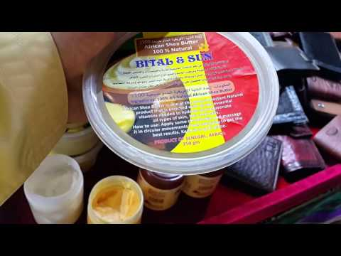 African Shea Butter at Global Village in Dubai 09.04.2016