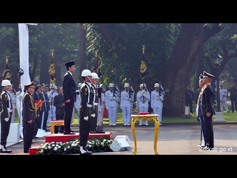 Jokowi Anugerahi Bintang Adhi Makayasa kepada Empat Capaja