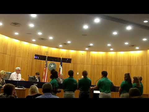 Gregg County Commissioner's Court 10-8-18