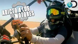 Buggy con motor de motocicleta en el desierto del Thar - Adicto a los Motores l Discovery Channel