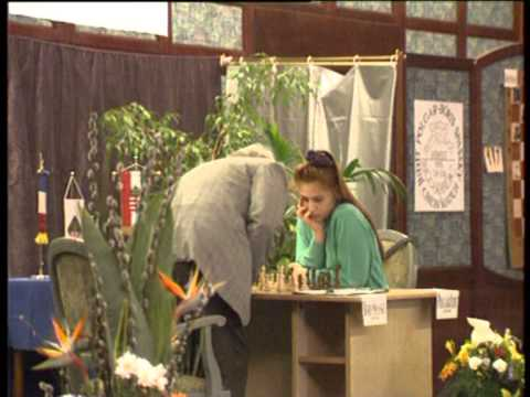 17-year-old Judit Polgar defeating World Champ Boris Spassky