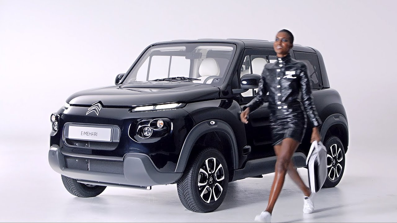 citroen e mehari styled by courreges youtube. Black Bedroom Furniture Sets. Home Design Ideas