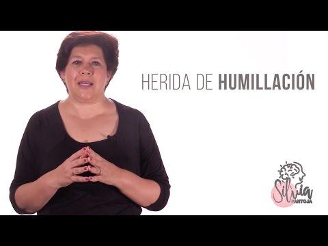 La herida de humillacion. Silvia Pantoja PNL. Coach de vida.